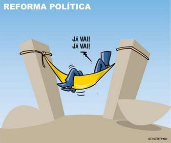Resultado de imagem para reforma politica charges