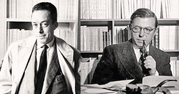 Camus e Sartre
